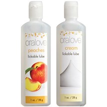 Oralove Delicious Duo Lickable Lubes at BetterSex.com