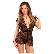 Luv Lace Wrap And G-String