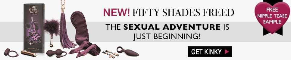 NEW! Fifty Shades of Grey Freed. FREE Nipple Tease with Purchase. The Sexual  Adventure Is  Just Beginning. Shop Now.