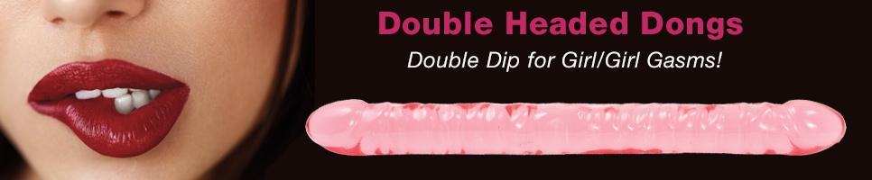Double Dip for Girl/Girl Gasms!