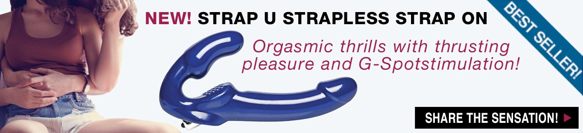 NEW! Strap U Strapless Strap On