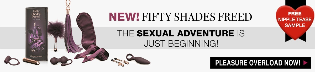 Fifty Shades of Grey Freed Pleasure Products